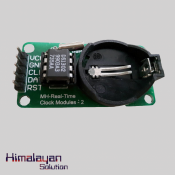 DS 1302 Clock Module Without Battery