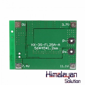 HX-3S-Fl25A-A (56*45*1.2mm )3s Bms Green