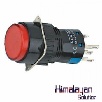 Indicator Pushbutton Switch 16m/m