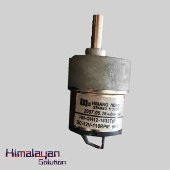HS Geared Motor 116rpm